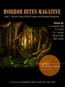 """""""What Storms Bring"""" appeared in Horror Bites Magazine's inaugural issue."""