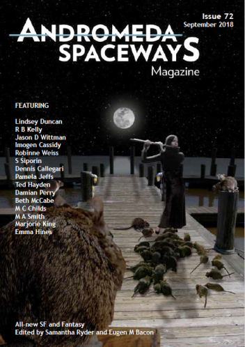 Andromeda Spaceways cover 72 author interview